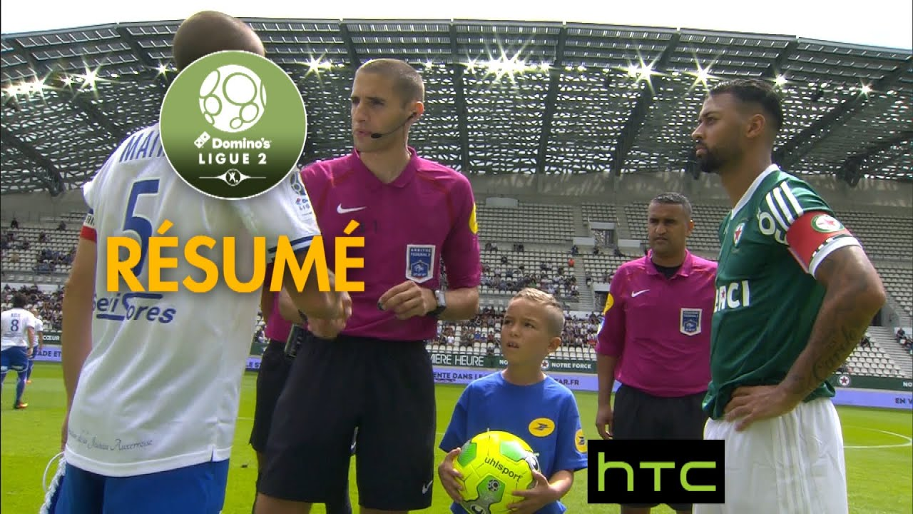 red star fc - aj auxerre  0-0  - r u00e9sum u00e9 -  red