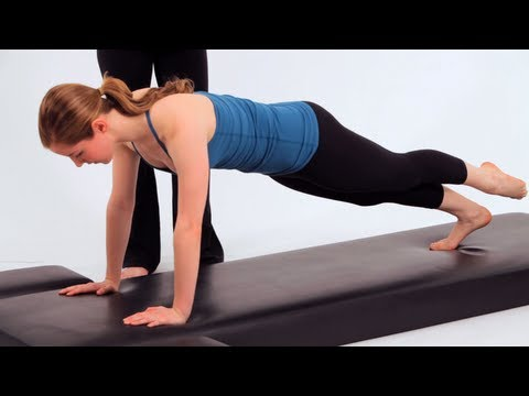 How to Do the Leg Pull-Down | Pilates Workout