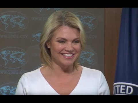 WATCH: State Department URGENT Press Briefing with Heather Nauert on New Threats
