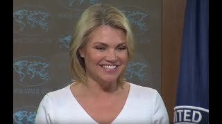 WATCH: State Department URGENT Press Briefing with Heather Nauert on New Threats 2017 Video