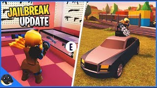 JAILBREAK UPDATE (RPG,GRENADES,New Car) | Roblox