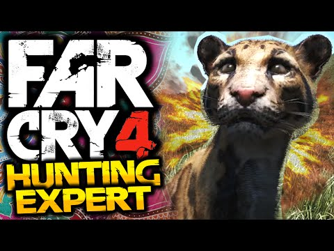Far Cry 4: Hunting Expert! - #1 - LEOPARDS! - (FC4 Funny Moments)
