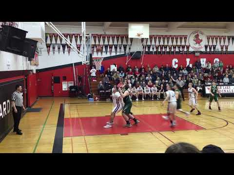NCS D5 quarterfinal game: Clear Lake Cardinals vs Sonoma Academy on 2/16/19