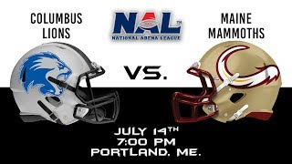 Columbus Lions vs Maine Mammoths