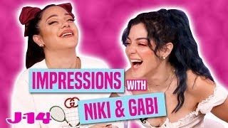 Niki and Gabi Do Impressions of Ariana Grande, Kylie Jenner, and More!