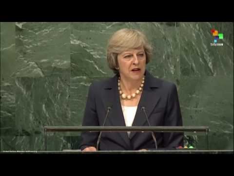 UN Speeches: British Prime Minister Theresa May
