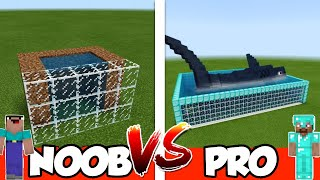 NOOB vs PRO: AQUARIUM in Minecraft PE | MCPE Journalist