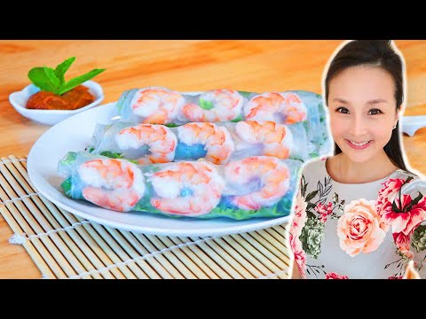 diy-vietnamese-spring-rolls-recipe,-cici-li---asian-home-cooking-recipes