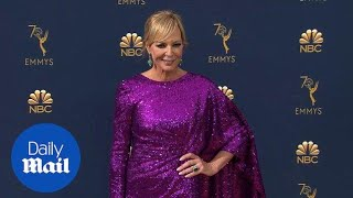 Perfect in purple! Allison Janney commands Emmys red carpet thumbnail