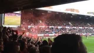 Liverpool fans sing