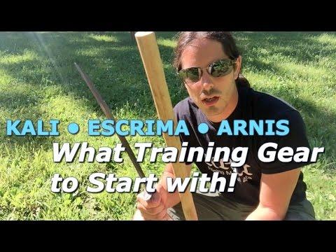 KALI ESCRIMA ARNIS Training Gear Part 1: Filipino Martial Arts