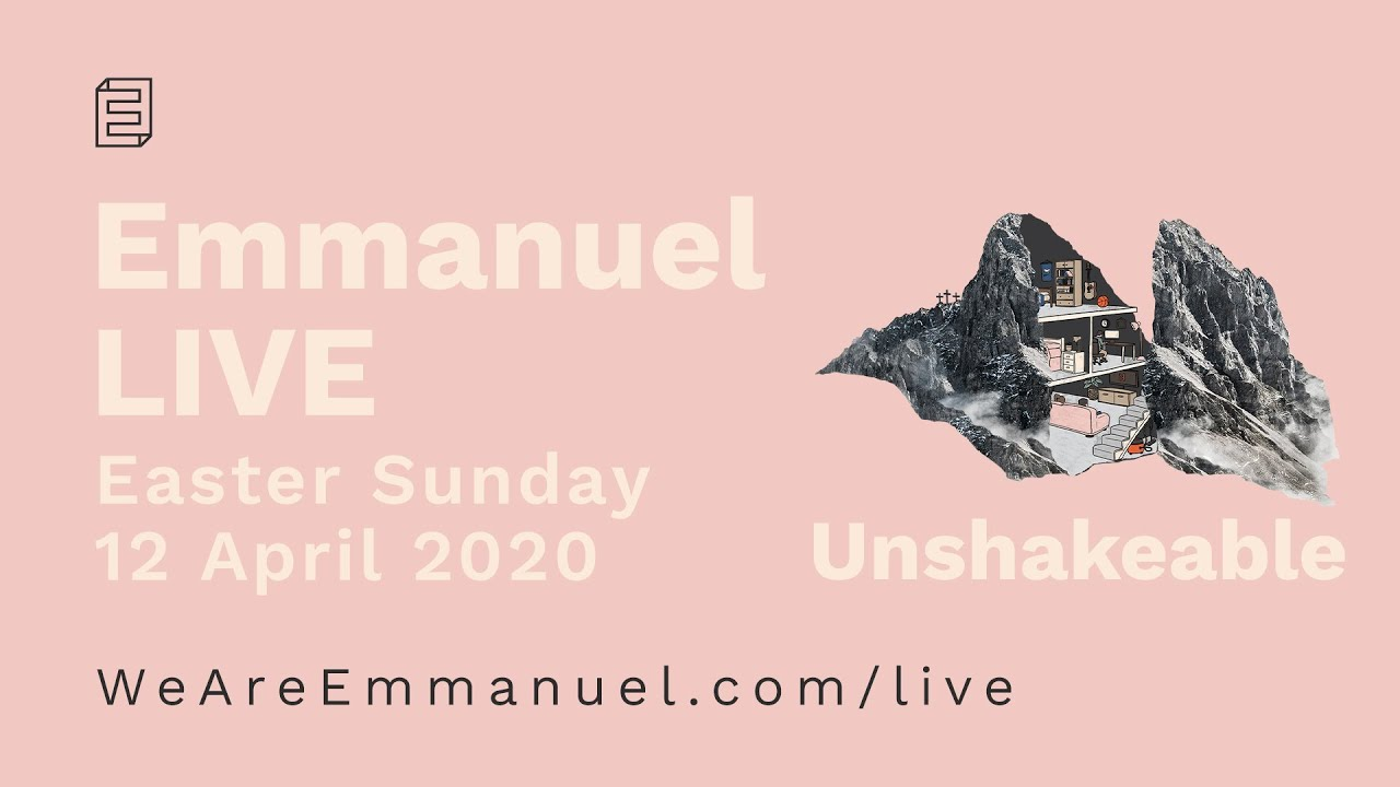 Emmanuel Live Easter Service // 10:30am Sun 12 Apr 2020 Cover Image