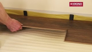 Укладка ламината. Пошаговая видео инструкция.(Укладка ламината. Видео инструкция по укладке ламината с 5G замками. В видео показан процесс укладки ламина..., 2015-06-18T10:14:57.000Z)