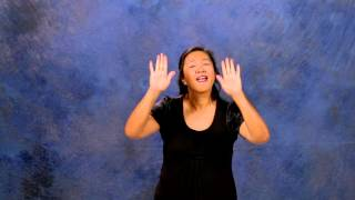 Great Are You Lord in ASL & CC by Rock Church Deaf Ministry