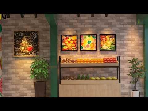 Thiết kế cửa hàng nước ép trái cây Anh Quang  TP hồ chí minh