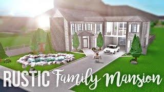 Bloxburg: Rustic Family Mansion 130K