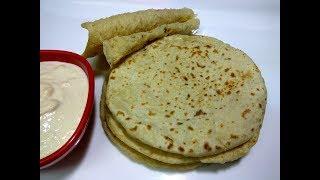अरेबिक रोटी बनाने का तरीका || Pita bread ||  Homemade pita bread, simple and easy.