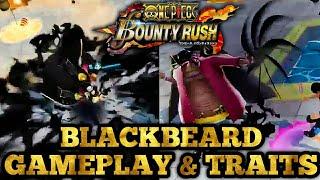 Anni marineford blackbeard gameplay & traits! should u summon?   one piece bounty rush opbr