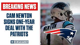 BREAKING: Cam Newton agrees to 1year deal with New England Patriots | CBS Sports HQ