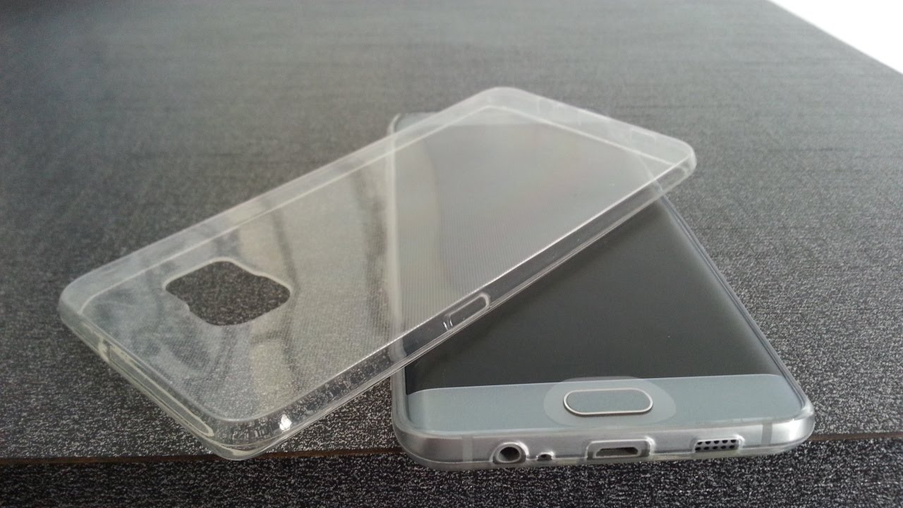 custodia silicone samsung s6 edge plus