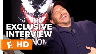 Tom Hardy Loves the Look of 'Venom' | Full Interview | Fandango All Access