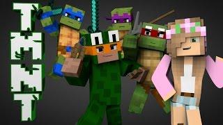 minecraft parody teenage mutant ninja turtles minecraft animation