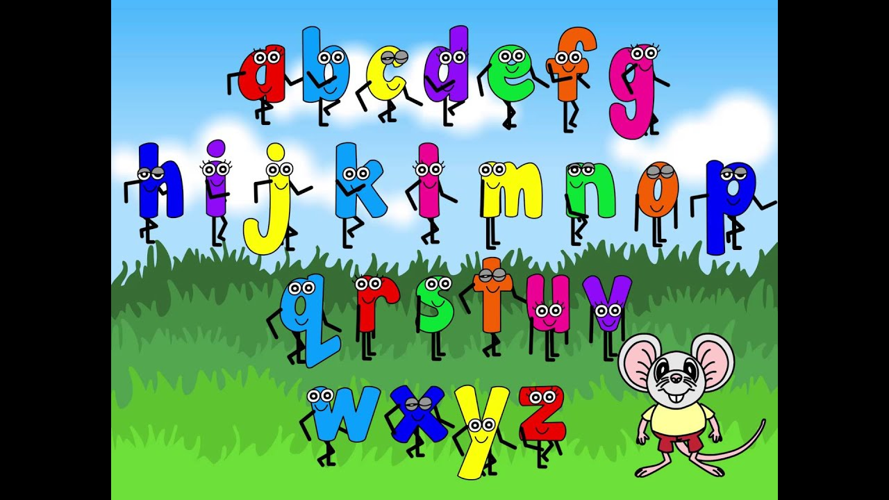 ricardos alphabet song 26 letters of the english alphabet abc song