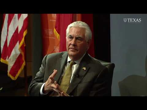 Secretary Tillerson Participates in Q&A at the University of Texas, Austin - Feb. 1, 2018
