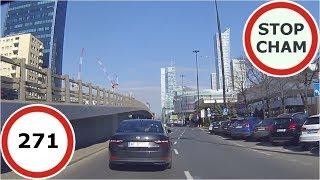 Stop Cham #271 - Niebezpieczne i chamskie sytuacje na drogach thumbnail