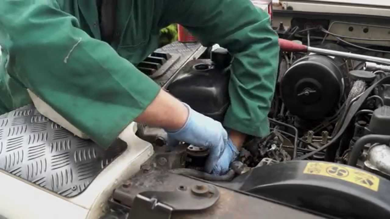 Replacing A Tdi Diesel Filter The Fine Art Of Land Rover