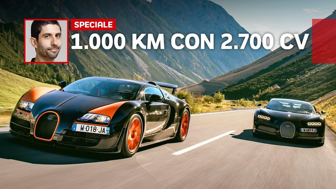 Download Ho GUIDATO una Chiron e una Veyron per 1.000 km: quale DESTINO per Bugatti?