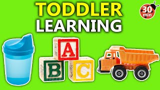 Educational Videos for Toddlers with The Toddler Teacher - Abcs, Colors, Letters, Numbers in English