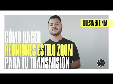 Cómo hacer reuniones estilo ZOOM para tu transmisión | IGLESIA EN LÍNEA | DIRECTOR CREATIVO