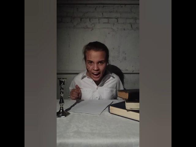 Изображение предпросмотра прочтения – ПолинаМорозова читает произведение «Чёрный человек» С.А.Есенина
