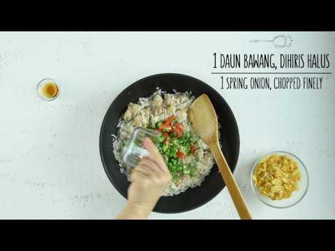 Kellogg's® Corn Flakes Cheesy Chicken Rice Bake - Sahur Recipe SG