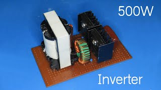 How to make 500W Inverter using ATX Transformer (Part 2 )