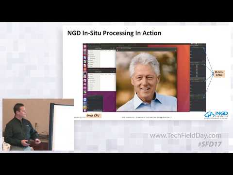NGD Systems Product Demos with Scott Shadley and Vladimir Alves