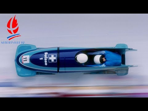 1992 Winter Olympics - Two-man Bobsled