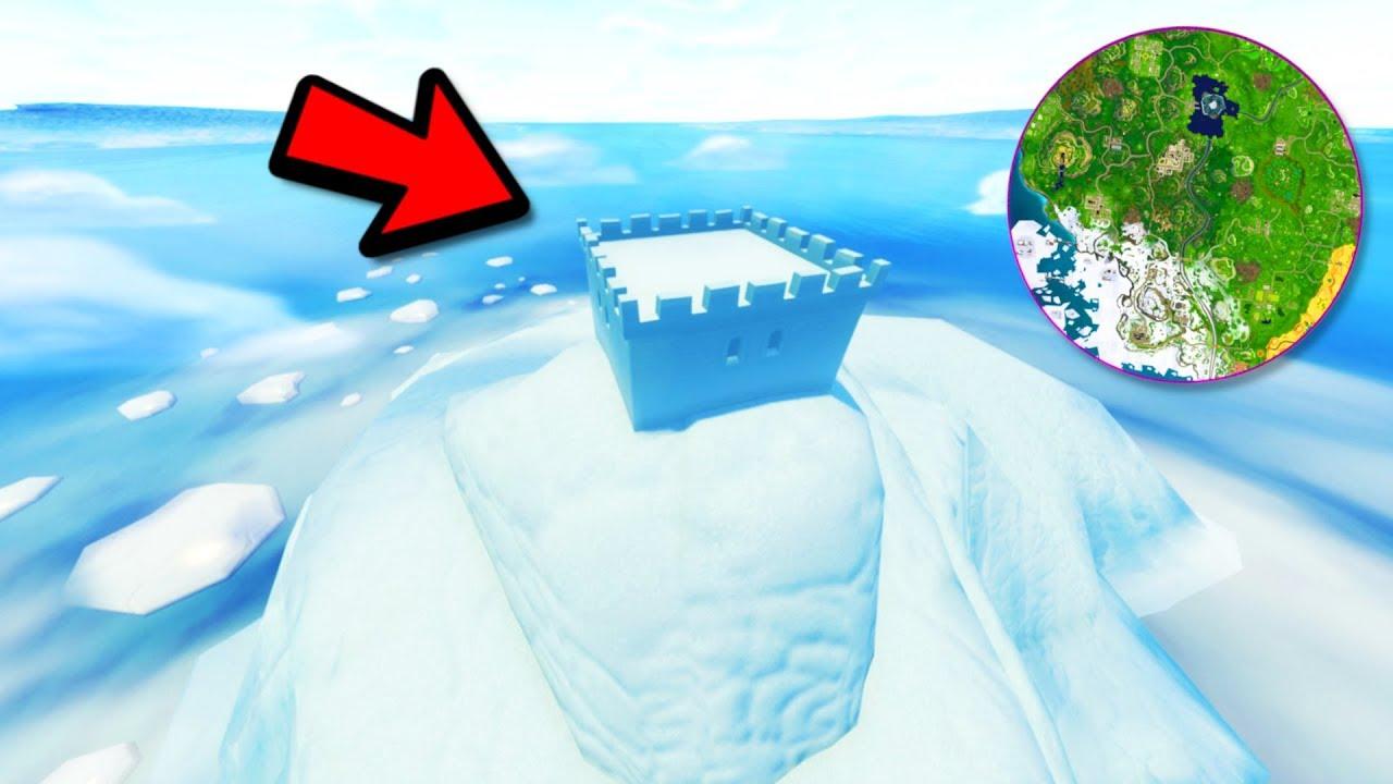 Early Fortnite Season 7 Iceberg Event Preview Leaked Fortnite