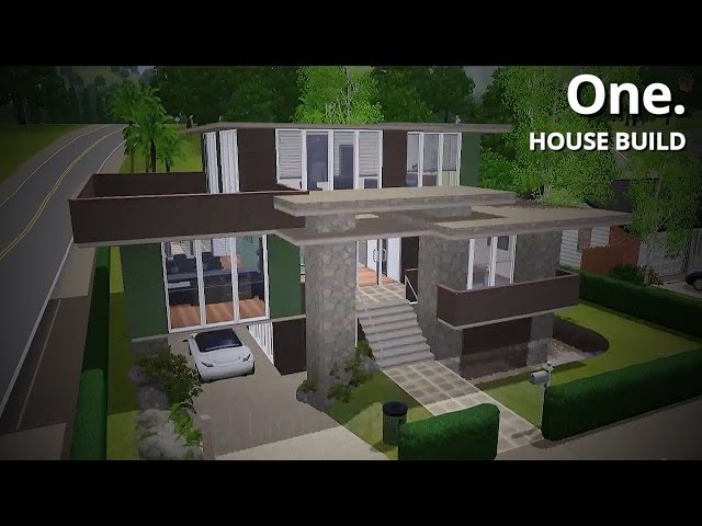 The Sims 3 House Building - One.
