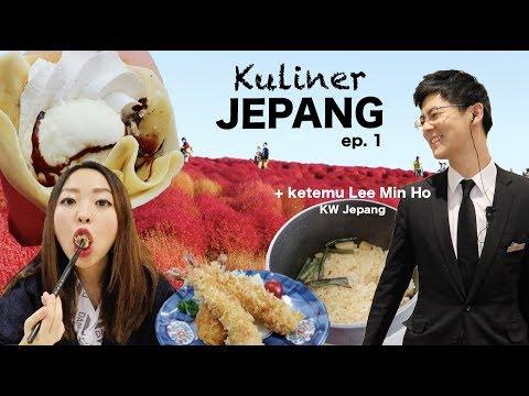 KULINER JEPANG + MT. FUJI YANG MEMBAWA JODOH!! #JennieinJapan ep. 1