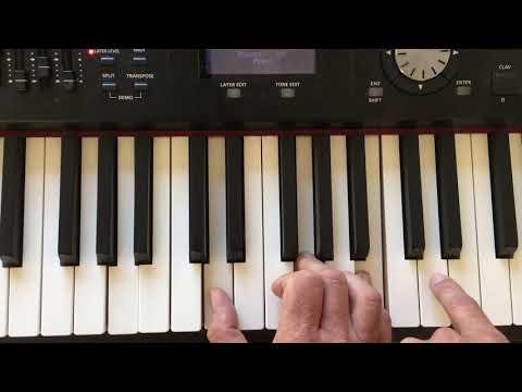 G Chord Piano Play The G Major Chord On Piano Chord Inversions