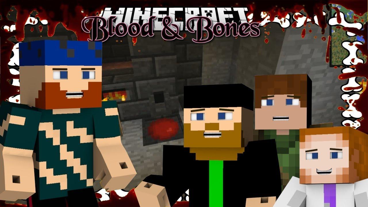 Minecraft | YESMEN: BLOOD & BONES | #8 BLOOD FURNACE - YouTube