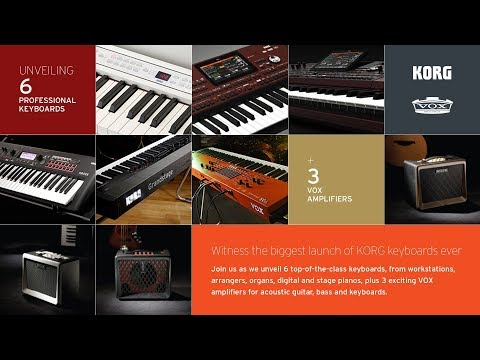 KORG & VOX Product Launch Event
