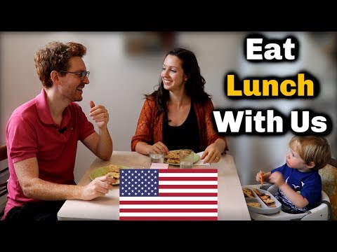 Eat Lunch With Us: Advanced English Conversation