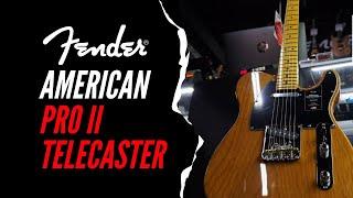 Fender American Professional II Telecaster | Maple Fingerboard | Roasted Pine