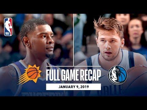 Full Game Recap: Suns vs Mavericks | Luka Doncic Drops 30 Against PHX