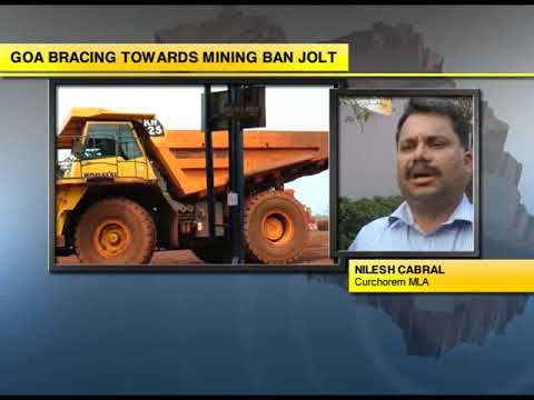 Nilesh Cabral expresses fear of law & order situation if mining not resumed in state