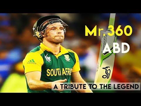 A Tribute to The legend  - AB De Villiers