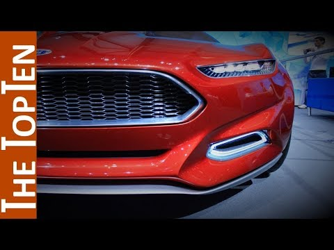 The Top Ten Amazing Ford Concept Cars